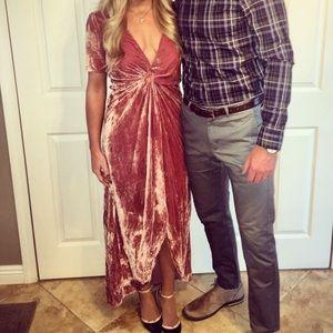 Velvet dress J.O.A